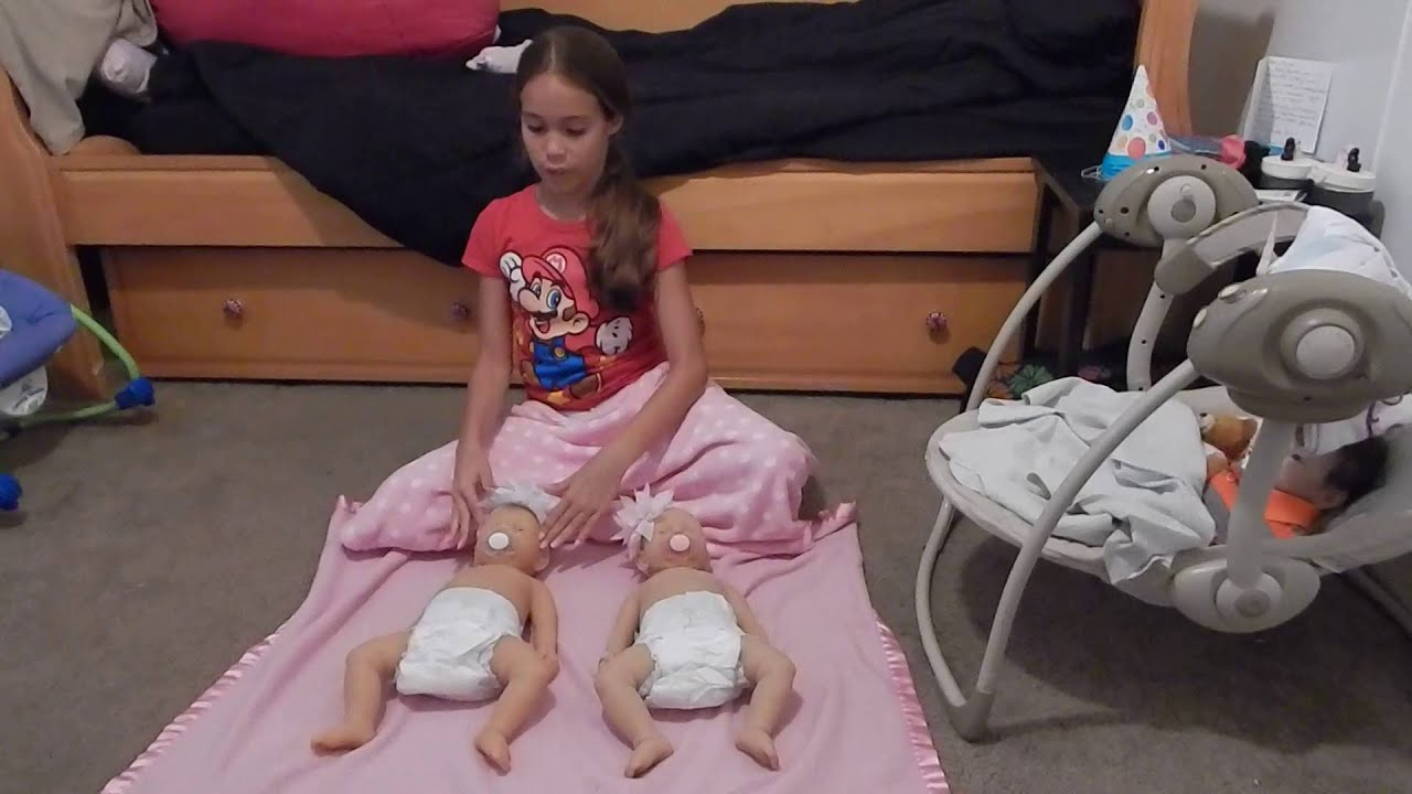Squishiness And Flexibility Tests With Two Silicone Baby