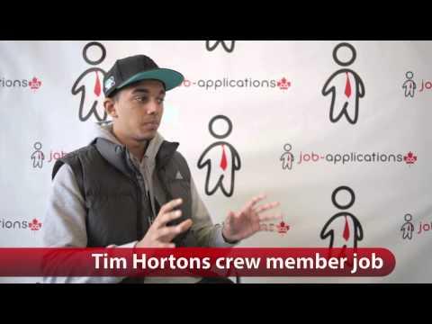 Tim Hortons Crew Member Job