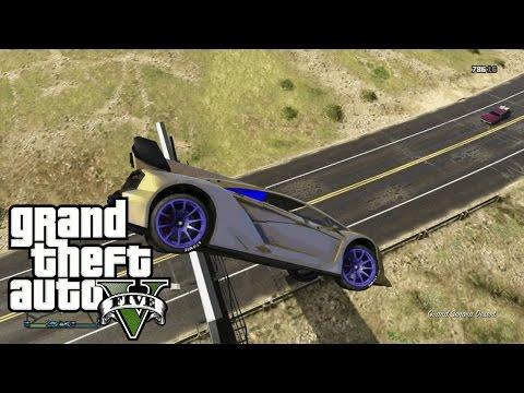 Grand Theft Auto 5: Stunt Montage