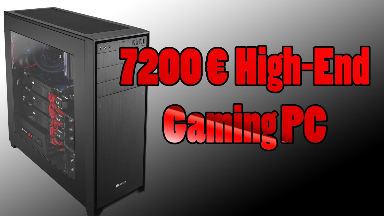 high end gaming pc ohne preislimit youtube. Black Bedroom Furniture Sets. Home Design Ideas