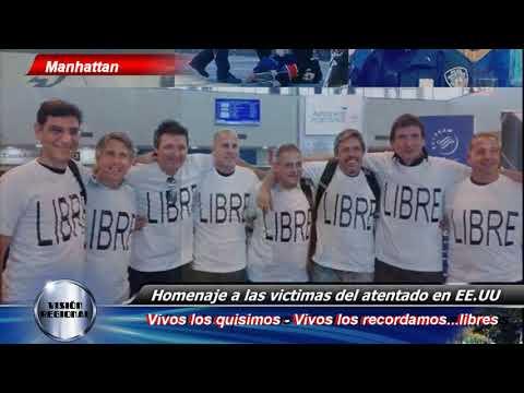 HOMENAJE A LAS VICTIMAS DEL ATENTADO DE MANHATTAN NOTICIERO VISIÓN REGIONAL CABLE VISIÓN1