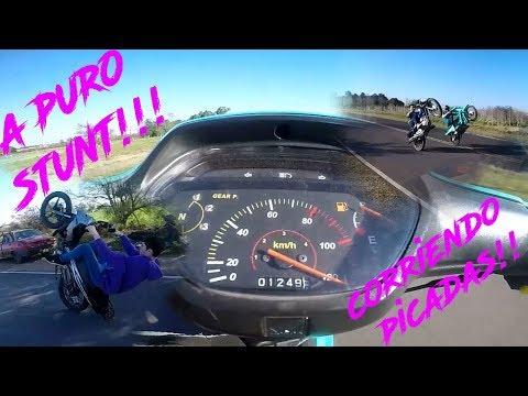 TARDE DE PURO STUNT!!||HONDA WAVE A FONDO|| PERRE MOTOVLOG