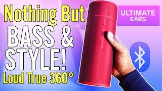 UE MegaBoom 3 Review  Unleash the BASS | Best Bluetooth Speaker Yup!