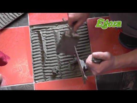 Как поменять плитку на полу