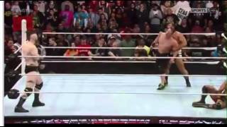 Roman Reigns Saves john Cena & Usos