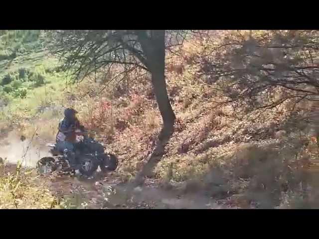 Podjazd Ciecierzyn I próba wolna EGL MOTOR RUSH 250