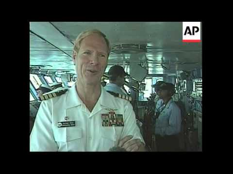 USA: AIRCRAFT CARRIER USS JOHN F KENNEDY