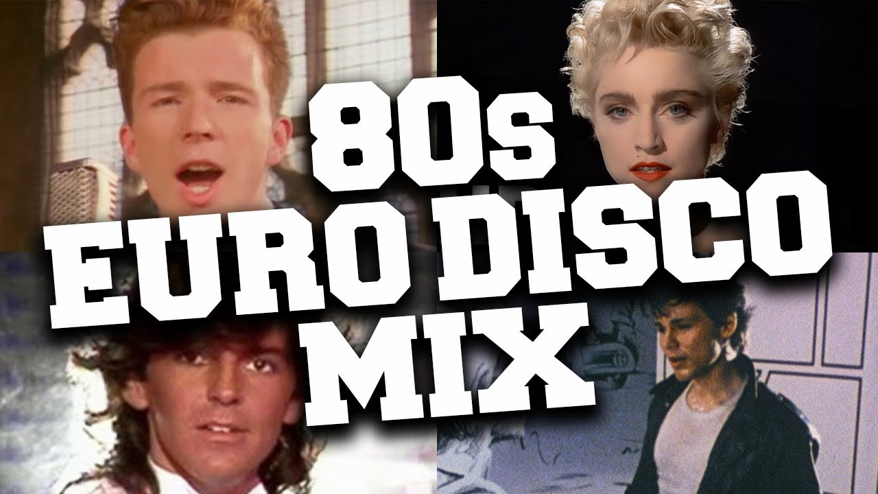 Download Euro Disco Hits 80's Mix 📀 80's Best Euro-Disco & Synth Pop Dance