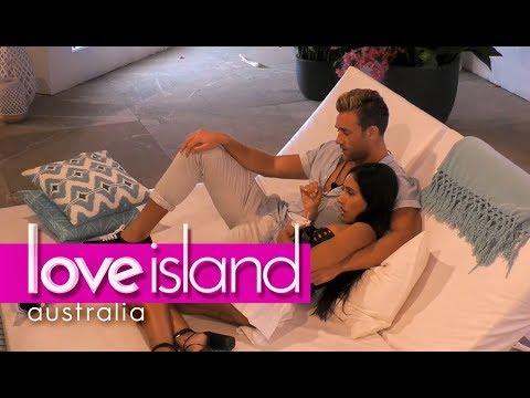 Josh makes a move on Amelia  Love Island Australia 2018