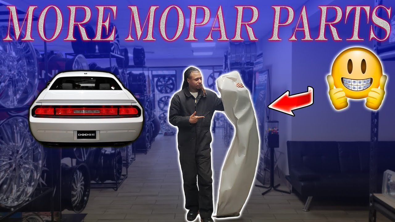 MORE MOPAR PARTS FOR MY CHALLENGER