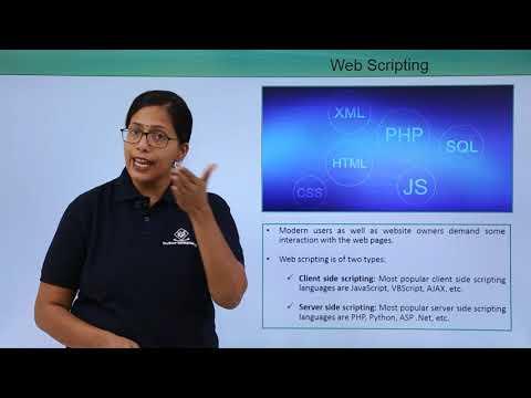 Accessing The Web - Web Scripting