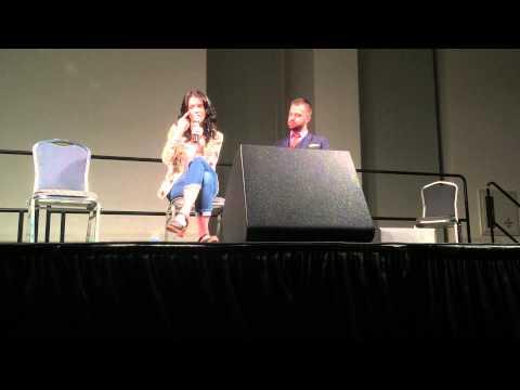 Bridget Regan Panel at Space City Comic Con 2015