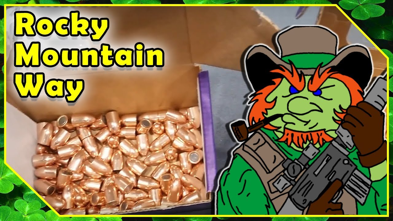 RMR Rocky Mountain Reloading Booth - Jacketed Bullets Vs Plated Bullets -  Shot Show 2018