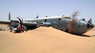 Najbardziej niesamowite opuszczone samoloty!