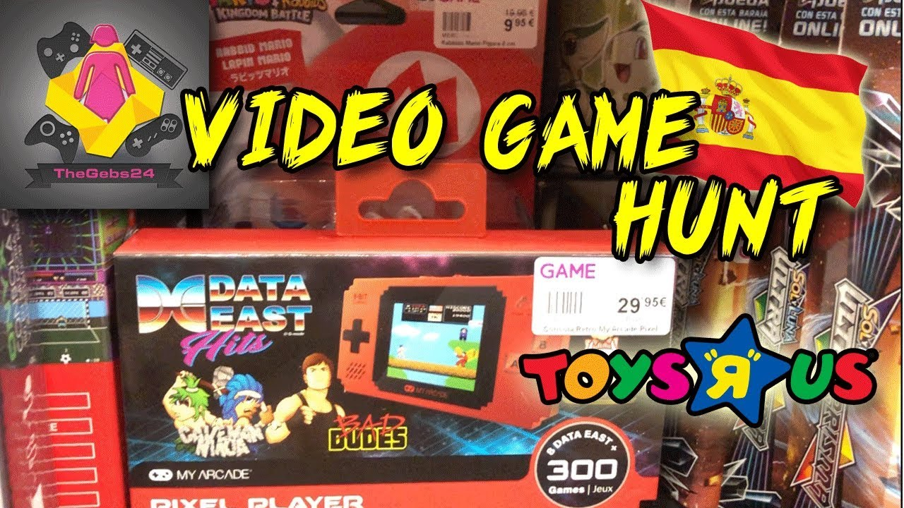Video Game Hunting In Spain And Toys R Us Is Open Cheap Nintendo