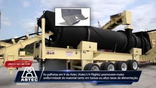 Usina de Asfalto modelo Voyager 120 Astec Inc