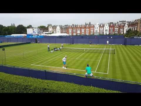 John McEnroe at Queens Tennis Club