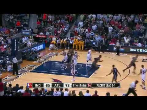 NBA CIRCLE - Indiana Pacers Vs Atlanta Hawks Game 4 Highlights 29 April 2013 NBA Playoffs