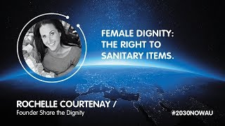 Rochelle Courtenay, Founder Share the Dignity