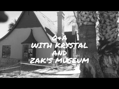 Q&A with Krystal! Plus! Zak's Haunted Museum Tour