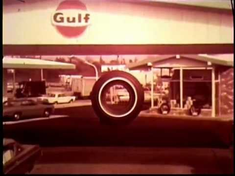 I Need A Gas Station >> 1968 Gulf Tire Commercial - Gulf Gasoline Stations - YouTube