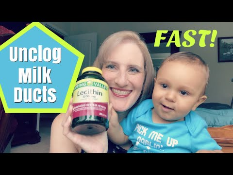 Breastfeeding Help: How to Unclog a Milk Duct Fast!!