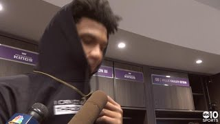 Marvin Bagley III on his 1st career double-double in Kings win over Thunder
