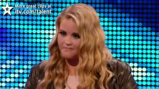 Simon Cuts Off Teen Singer Mid Performance, Then Challenges Her To Sing A Much Different Son