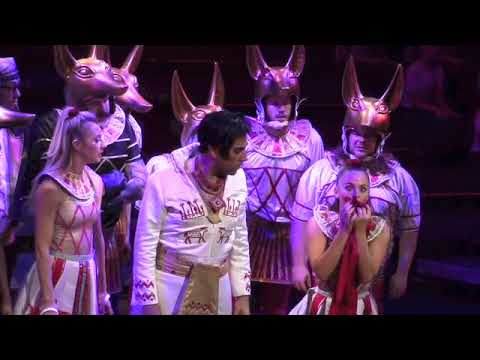 Adam Strong - Joseph UK Tour - Pharaoh - Manchester Palace Theatre