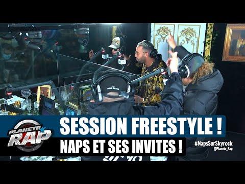 Youtube: Naps – Session freestyle avec Soso Maness, Sauzer, Sysa & Yas! #PlanèteRap