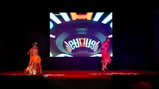 a c p c e   rhythms 2017   duet dance   prajakta patil divya patil
