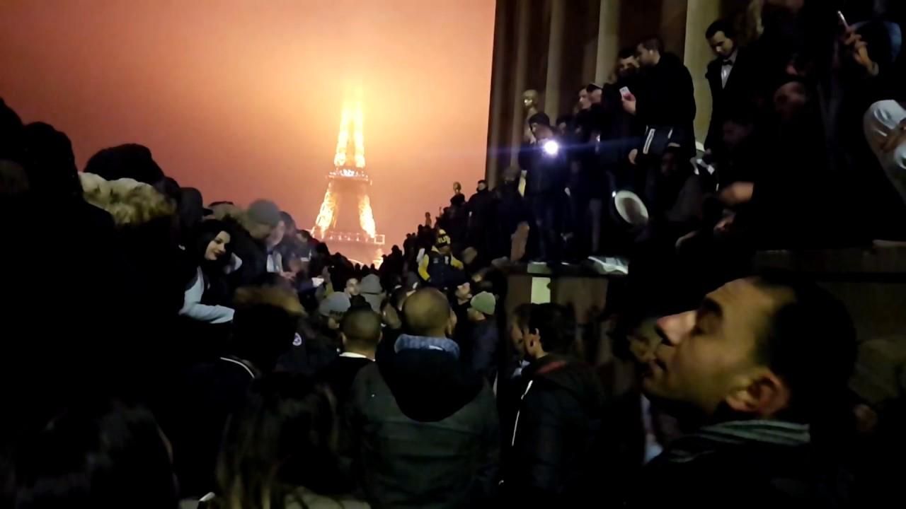 live paris happy new year 2017