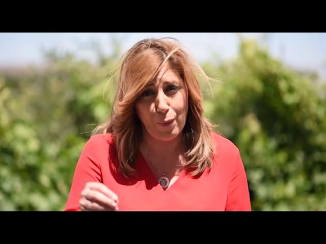 Mensaje de Susana Díaz a los militantes del PSOE  de Ceuta