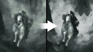 How To Draw More Dramatic - Overpaint