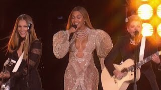 "Beyonce & Dixie Chicks Team Up For ""Daddy Lessons"" at 2016 CMAs"