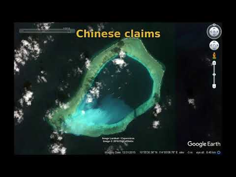 Chinese dominance over the Spratly Islands - a warning for India