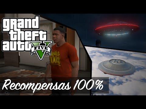 Grand Theft Auto 5 - Recompensas del 100% y todos los OVNIS / UFOS