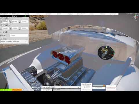 Engine Swap using the editor in Car Mechanic Simulator 2018