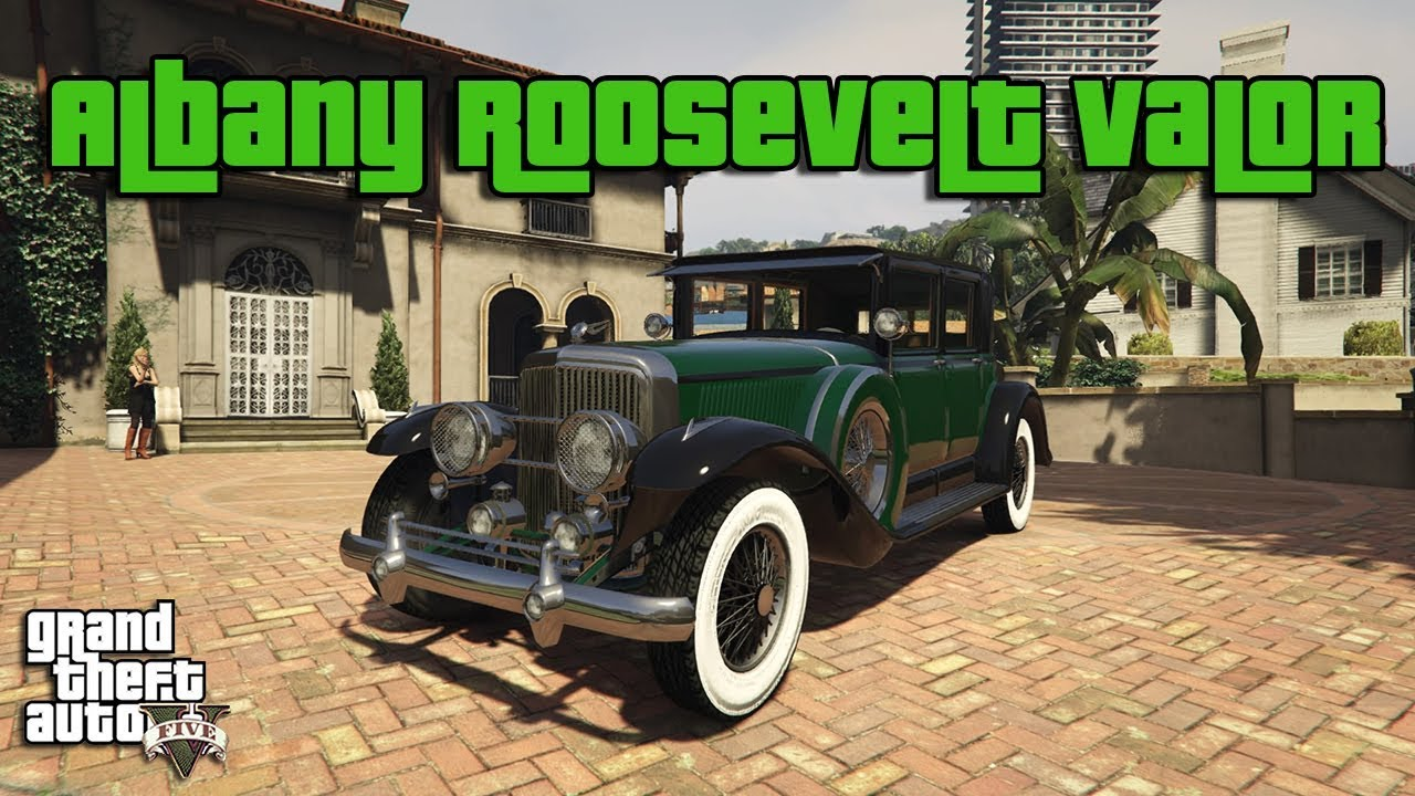 Exceptionnel GTA 5 - Testing The Albany Roosevelt Valor (1928 Cadillac 341A  HM93