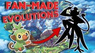 Pokémon Sword and Shield - AMAZING Fan-Made Starter Evolutions