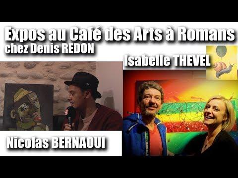 Les RDV Cultur'L   Expo Isabelle THEVEL, Nicolas BERNAOUI artistes peintres