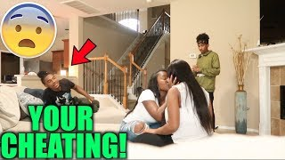 CAUGHT K. ISS .IN. G AIRI PRANK ON TAY ‼️