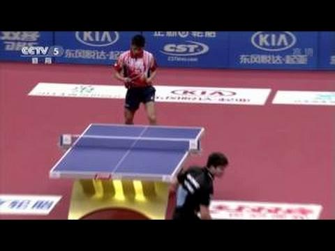 2013 Euro-Asia (D2/M4): ZHANG Jike - OVTCHAROV Dimitrij [Full Match|Short Form]