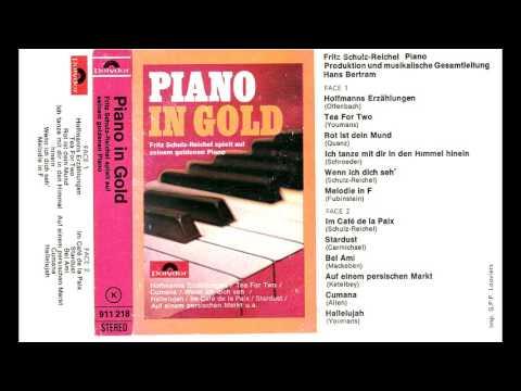 Piano in Gold  Fritz SchulzReichel