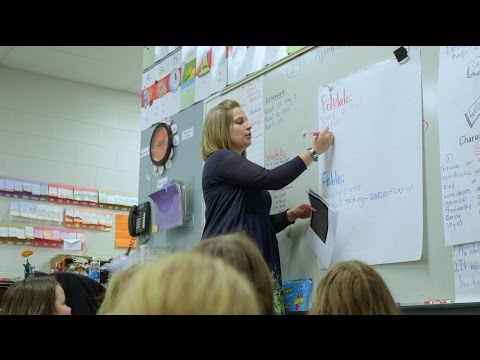Kasey Shook, Rosman Elementary School Teacher of the Year 2016-17