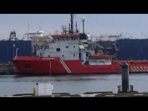 Arcticaborg (Арктикаборг) icebreaker platform supply vessel Wagenborg Kazakhstan Caspian Sea