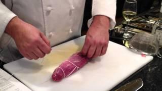How To Tie Up A Stuffed Pork Tenderloin