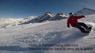 Improve your Snowboard skills - Basic Turn gecarvt / Basic Turn carvé