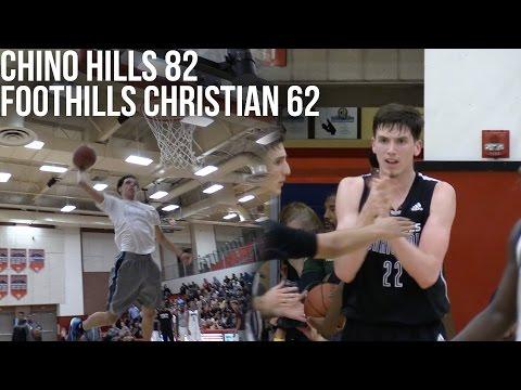 Lonzo Ball VS TJ Leaf! | Chino Hills VS Foothills Christian Playoffs Full Highlights
