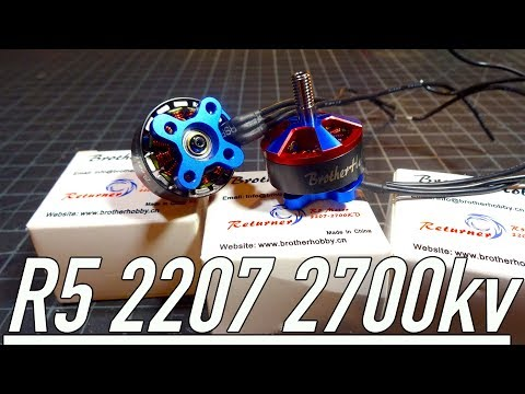 Brother Hobby Returner R5 2207 2700kv : Bench Overview
